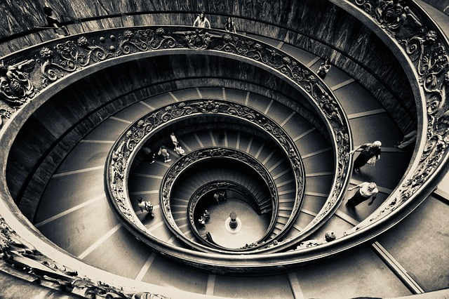 pat-schneider-patience-of-ordinary-things-spiral-stairs